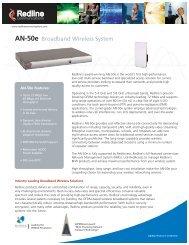AN-50e Broadband Wireless System - Kambing UI