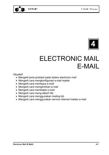 ELECTRONIC MAIL E-MAIL - Kambing UI