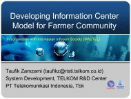 TELE_07 Information Center Model for Farmer Com..
