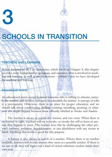 Information and communication technologies in schools: a ...