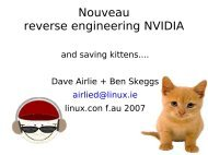 Nouveau reverse engineering NVIDIA - mirror