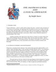 Austrian Economics and Classical Liberalism - Ludwig von Mises ...