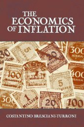 The Economics of Inflation - Ludwig von Mises Institute