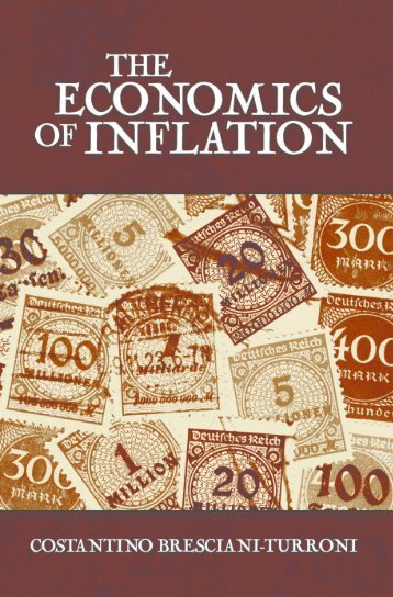 The Economics of Inflation - Ludwig von Mises Institute