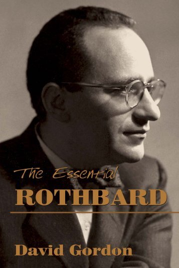 The Essential Rothbard - Ludwig von Mises Institute