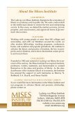 About the Mises Institute - Ludwig von Mises Institute - Page 2