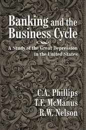 Banking and the Business Cycle.pdf - Ludwig von Mises Institute