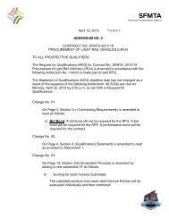 April 12, 2013 ADDENDUM NO. 2 CONTRACT NO. SFMTA-2013-19 ...