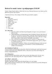 Referat fra møde i natur- og miljøgruppen 01