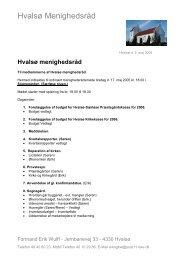Hvalsø Menighedsråd - Hvalsø & Særløse kirker og kirkegårde