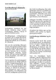 Biler på Lerchenborg - Godset - Rover klub Danmark
