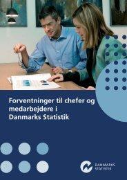 Forventninger til chefer og medarbejdere i Danmarks Statistik