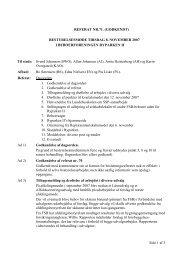 Referat fra bestyrelsesmøde - nov. 2007 - rypen.dk
