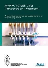 AVPP: Ansell Viral Penetration Program - Ansell Healthcare Europe