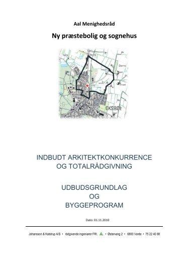Ny præstebolig og sognehus - Aal sogn