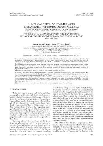 numerical study of laminar mixed convection The effect of mhd on laminar mixed convection of newtonian fluid between vertical parallel plates channel carried out a numerical study based on finite.