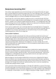 Bestyrelsens beretning - AB Skydebanen