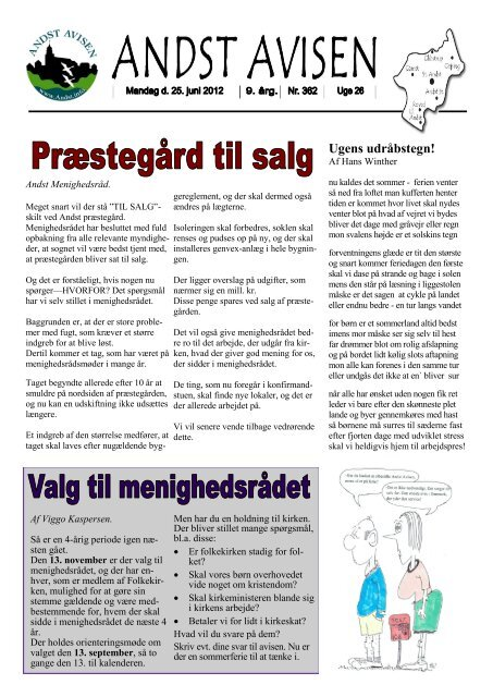 Andst Avisen uge 26 2012