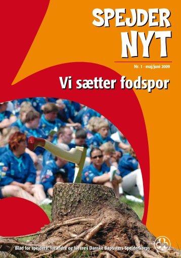 I år er datoen altså: d. 16. - Danske Baptisters Spejderkorps