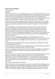 Årsberetning fra skolelederen v. Mette Lisbjerg Personale I dette ...