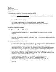 21A.218 Antropología Identidad y diferencia Clase 3 1 ...
