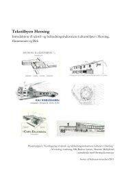 Tekstilbyen Herning. Introduktion til tekstil - Museum Midtjylland