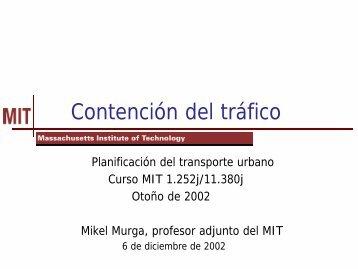 Contención del tráfico