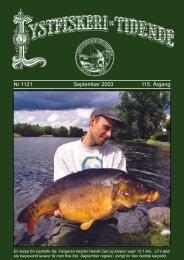 Nr 1121 September 2003 115. Årgang - Lystfiskeriforeningen
