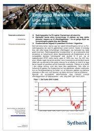 Emerging Markets Nyt - 28 okt. 2011 - Sydinvest