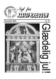 December 2003 nr. 41 - Assisi-Kredsen