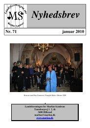 Nyhedsbrev nr 71 - Landsforeningen for Marfan Syndrom