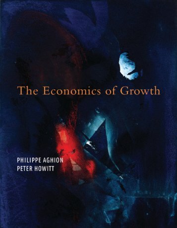 The Economics of Growth - UCL Discovery