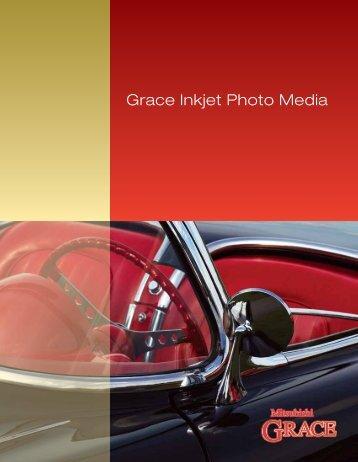 Grace Inkjet Photo Media - MItsubishi Imaging