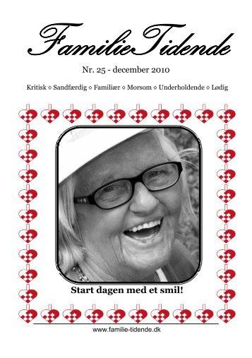 Start dagen med et smil! - familie-tidende.dk