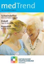 MedTrend Magazin 2/2010 - Marienkrankenhaus Soest ...
