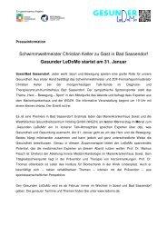 2013-01-29 Pressemeldung LeDoMo startet - Marienkrankenhaus ...