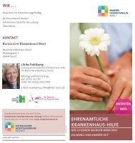 ehrenamtliche krankenhaus-hilfe - Marienkrankenhaus Soest