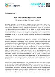 2013-02-20 Gesunder LeDoMo Premiere in Soest