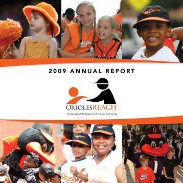 2009 ANNUAL REPORT - MLB.com