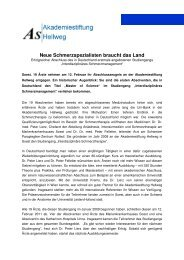 Erste Absolventen - Marienkrankenhaus Soest - Katholischer ...