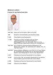 Prof. Dr. Markus Flesch - Marienkrankenhaus Soest
