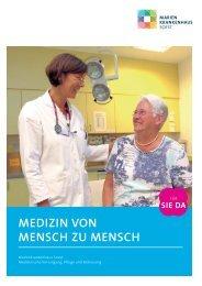 allgemeine innere medizin - Marienkrankenhaus Soest