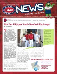Red Sox US-Japan Youth Baseball Exchange - MLB.com