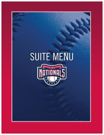 SUITE MENU - MLB.com