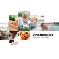 Download Dayz Rønbjerg Spa og Wellness brochure - Dayz Resorts