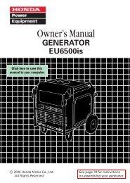 EASJ-1000001-1008010 - Honda Power Equipment
