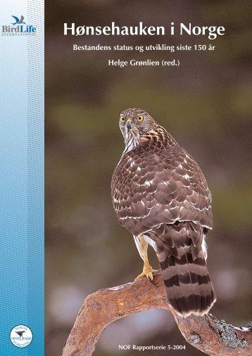 Hønsehauken i Norge - Norsk Ornitologisk Forening