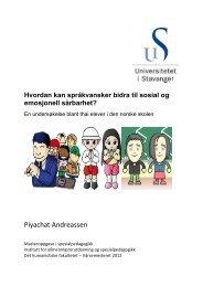 Last ned Andressens masteroppgave - Universitetet i Stavanger