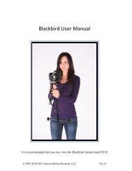 Blackbird User Manual English - Camera Motion Research