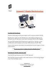 Litepanels? Ringlite Mini Instructions - Nawon USA, Inc.